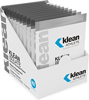 Klean Athlete - Klean Isolate - Whey Protein Isolate Enhances Daily Protein and Amino Acid Intake for Muscle Integrity - N...