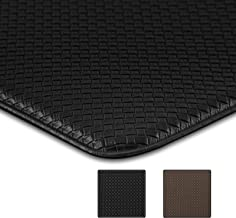 U'Artlines Kitchen Floor Mat 0.4'' Thick Anti Fatigue Comfort Mat Heavy Duty Standing Mats Waterproof for Stand Desk Kitch...