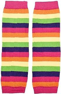 Baby Girl Rainbow Kneepad Socks Leg Warmer for Autumn Winter