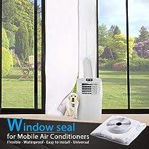 TOPOWN Deurafdichting voor Mobiele Airconditioners, Airconditioners, Wasdrogers, Luchtafvoerdrogers - Heteluchtstop met Ri...