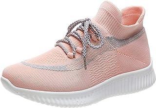 ASMCY Casual Zapatos para Correr Mujeres Ligero Respirable Al Aire Libre Zapatillas de Deporte, Caminando Gimnasio Trotar ...
