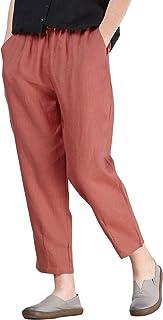 42680977d77852 Amazon.fr : pantalon lin femme : Vêtements