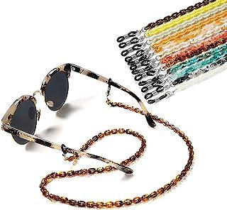Eyeglass Mask Chain Strap Holder Cord - Fashion Acrylic Eyewear Lanyard Around Neck, Sunglasses Mask Chain Jewelry Accesso...
