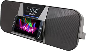 JENSEN JBD-400 Portable Bluetooth Speaker and FM Receiver with Charging for Smartphones