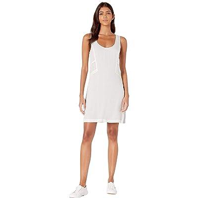 LAmade Seamed Tank Dress (Off White) Women