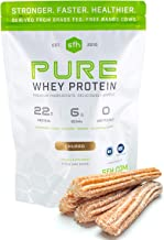 SFH Pure Whey Protein Powder | Best Tasting 100% Grass Fed Whey | All Natural | 100% Non-GMO, No Artificials, Soy Free, Gl...