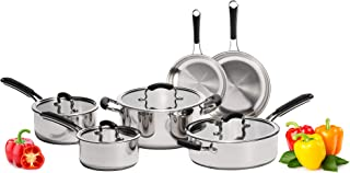 Best induction hob pots and pans set Reviews