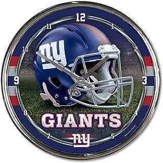 ny giants clock