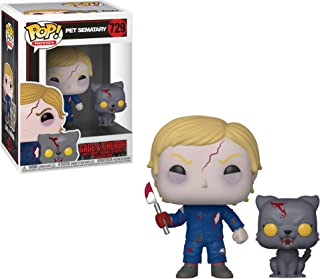 Funko POP and Buddy: Pet Sematary - Gage Undedead y Iglesia