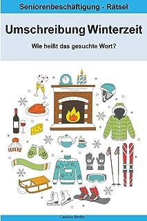 Umschreibung Winterzeit - Wie heißt das gesuchte Wort?: Sen