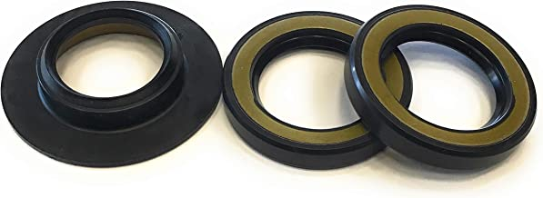 REPLACEMENTKITS.COM - Brand fits Yamaha Water Pump Oil Seal & Cover Oil Seal Combo Replaces 93101-28M16-00 & 6E5-45244-00-00 -