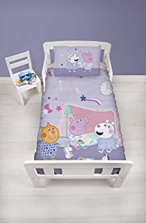 Peppa Pig Sleepy Junior Duvet Cover and Pillowcase Set
