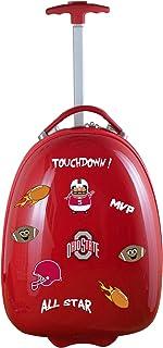 Mojo Licensing Unisex-Adult NCAA Texas A&M Aggies Kids Lil' Adventurer Luggage Pod CLTAL601_Black-P, NCAA Ohio State Buckeyes Kids Lil' Adventurer Luggage Pod, CLOSL601_RED, RED, 4.8