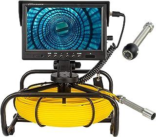 HBHYQ Endoscopio de la tubería de Pantalla Grande de 9 Pulgadas, cámara de tubería, Detector de inspección Interna de tube...