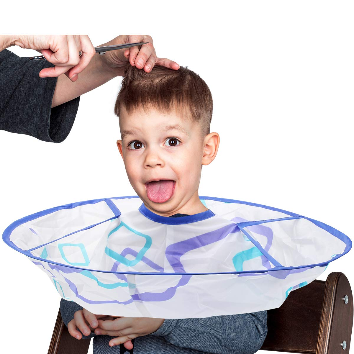 Kids Haircut Cape Hair Cutting Time sale for Umbrella Cap sold out Barber