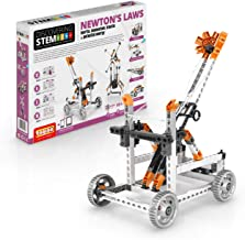 Engino Discovering STEM Newton`s Laws Inertia, Momentum, Kinetic & Potential Energy Construction Kit
