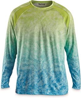 Guide Gear Men's Performance Fishing Solid Long Sleeve Shirt