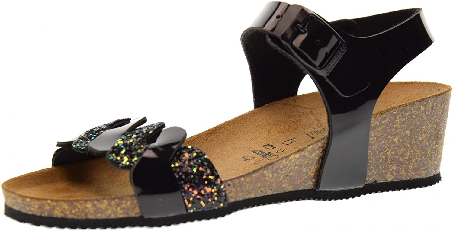 goldSTAR shoes Woman Sandals 1394Z Black