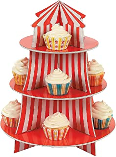 Fun Express - Big Top Cupcake Holder - Party Supplies - Serveware & Barware - Misc Serveware & Barware - 1 Piece