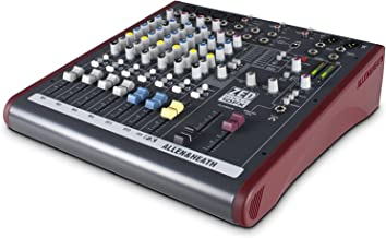 Allen & Heath AH-ZED60-10FX ZED60/10FX Multi-Purpose 6-Channel Mixer with Digital Effects and USB Connectivity (Renewed)