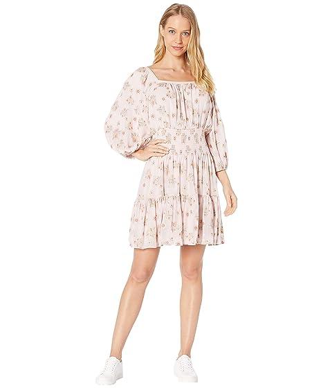 Rebecca Taylor Long Sleeve Leander Dress