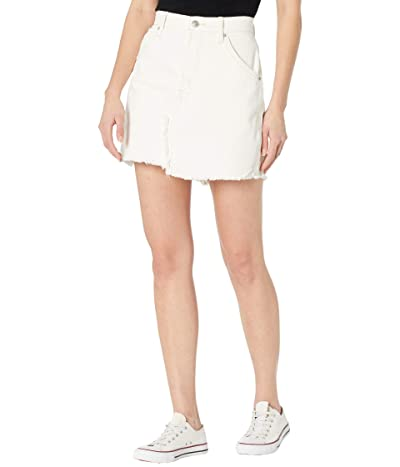 Free People Brea Cutoffs Skirt (Deco White) Women