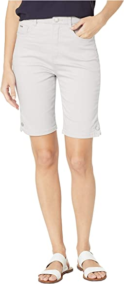 Soft Hues Denim Suzanne Bermuda in Silver