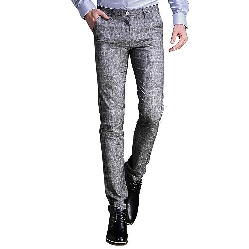 ab0fa65ca32b4 Men's Plaid Dress Pant: Amazon.com