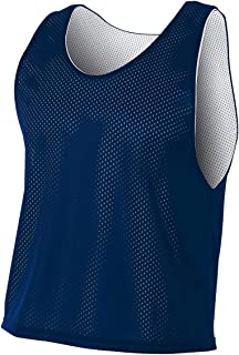 A4 Sportswear Navy Blue/White Adult 2XL Lacrosse Reversible Practice Jersey Pinnies