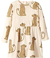 mini rodini - Spaniel Long Sleeve Dress (Infant/Toddler/Little Kids/Big Kids)