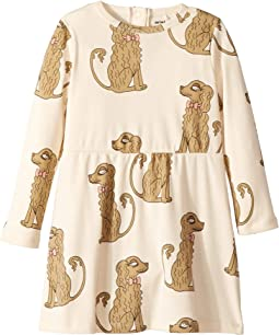 Spaniel Long Sleeve Dress (Infant/Toddler/Little Kids/Big Kids)