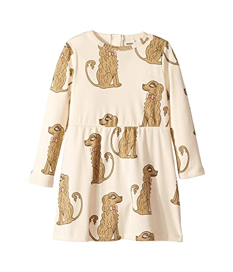 7fda5e812e mini rodini Spaniel Long Sleeve Dress (Infant/Toddler/Little Kids/Big Kids)