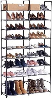 ORAF Shoe Rack Shoe Organizer 50 Pair Shoe Shelf, Black