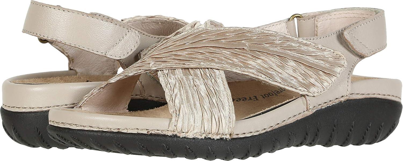Drew Woman Bon Voyage Recommendation Beige Las Vegas Mall Fabric Leather US Medium B 7
