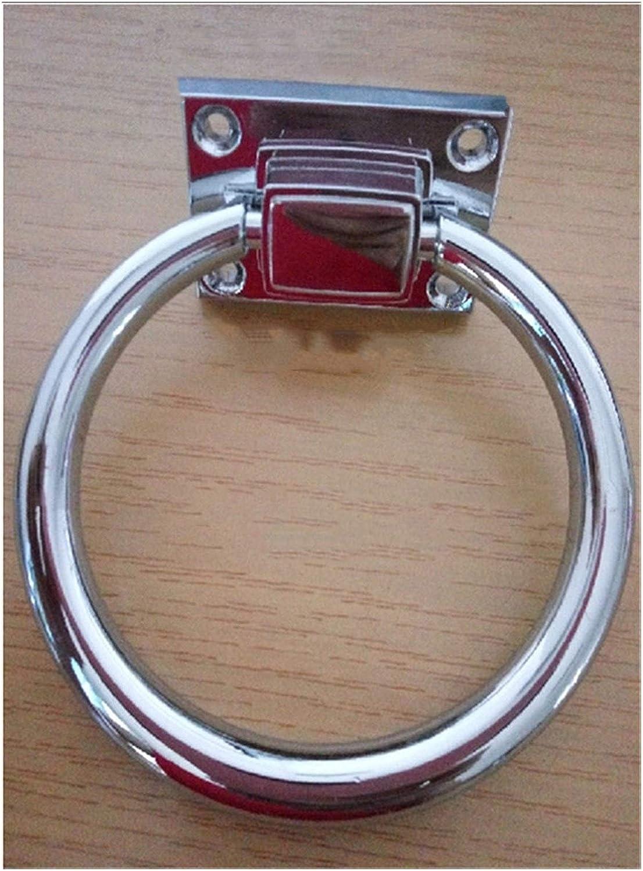 YOBAIH Hardware T/üRklopfer 1pcs 12cm Restauriertes L/öwe T/ürklopfer T/ürklopfer Lionhead Doorknockers Lions Home Decor Holzt/ürklopfer Color : 2