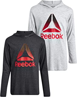 Reebok Boys Performance T-Shirt and Long Sleeve Pullover Hoodie 2-Piece Set
