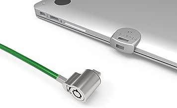 Maclocks MBALDGZ01KL Ledge Security Laptop Lock Slot Adapter with Keyed Lock for MacBook Air (Silver)