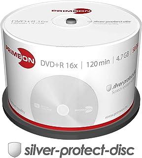 Primeon 2761224DVD + R Blank Discs 16x Speed, 4.7GB, 120Min, Spindle of 50
