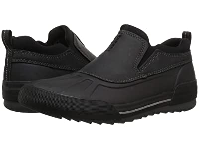 Clarks Bowman Free (Black Leather) Men