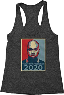 Yeezy for President Triblend Racerback Tank Top for Women