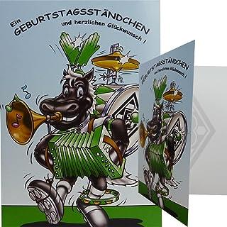 """Borussia Mönchengladbach Geburtstagskarte """"Ständchen"""