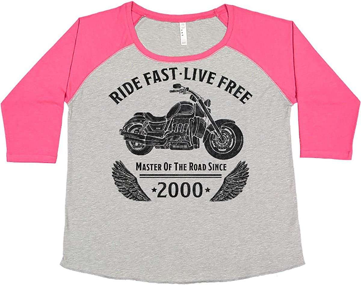 inktastic Ride Sales Fast Live Free Master Our shop OFFers the best service Since The P of Road Women's