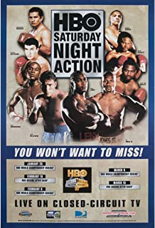 Title Boxing HBO Saturday Night Action Poster, 1 18