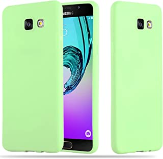 Cadorabo Case works with Samsung Galaxy A5 2016 in CANDY PASTEL GREEN - Shockproof and Scratch Resistant TPU Silicone Cove...