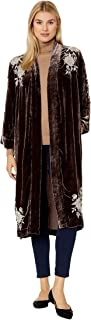 Johnny Was Santal Velvet Kimono Coat