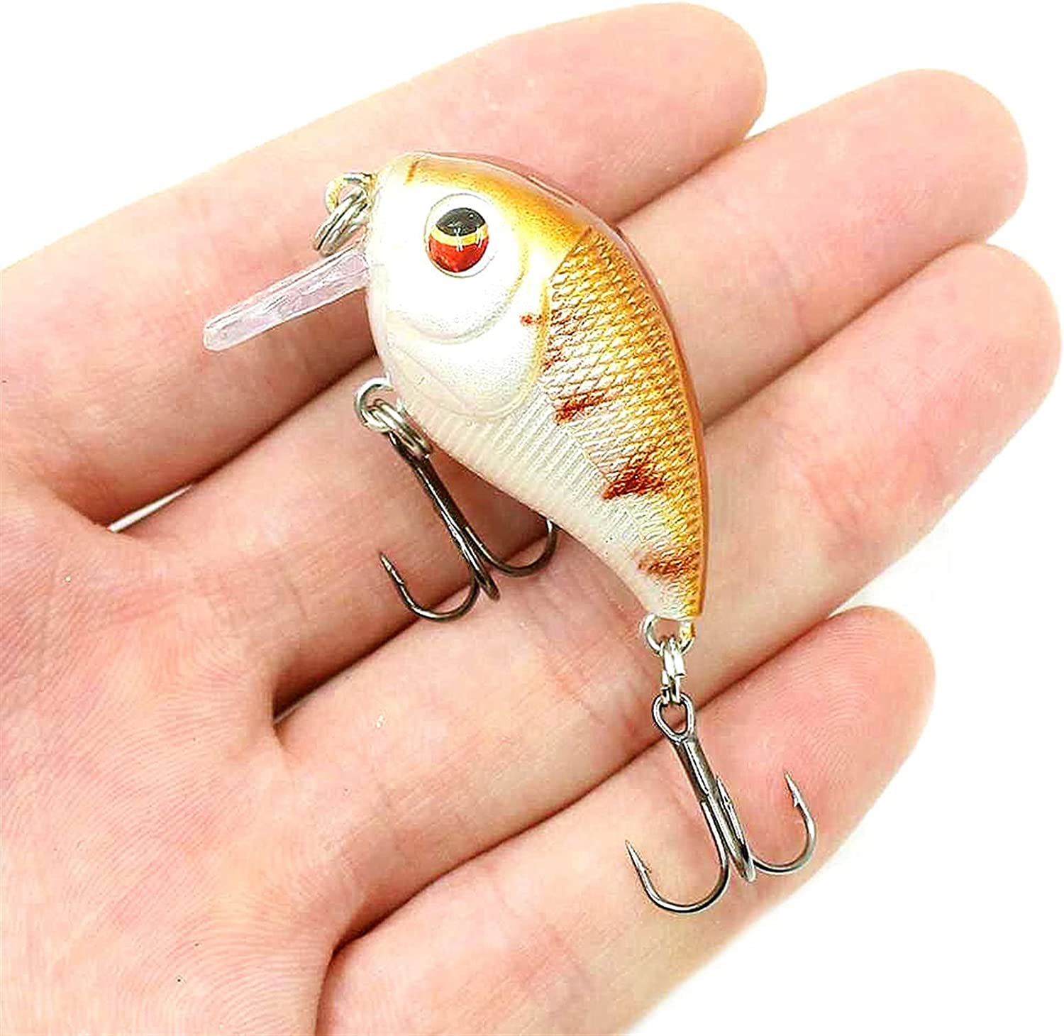 yqs Fishing Lures Crank Lure Translated Artificial Isca Washington Mall 7.4g 4.5cm
