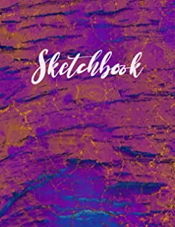 Sketchbook: Best Sketch Book with Blank White Paper for Drawing, Doodling, Painting, Writing, 100 Pages, 8.5x11 (Abstract ...