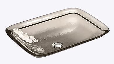 drop in glass sink