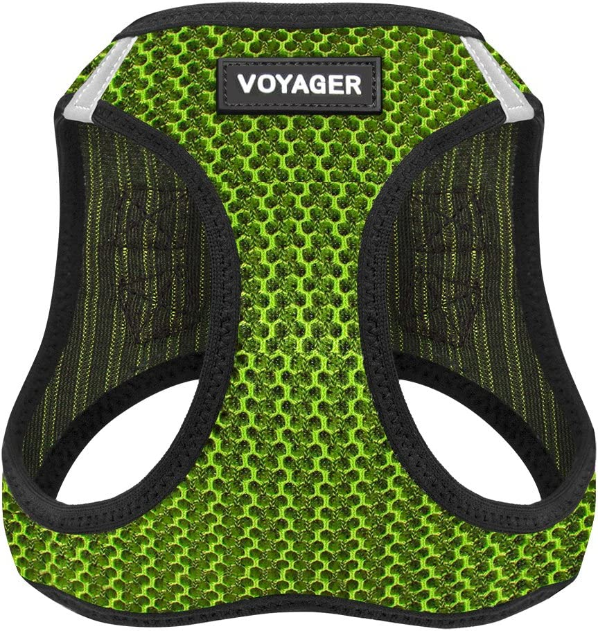 207-PUB-XXXS Chest: 9.5-10.5 * Fit Cats Voyager Step-in Air Dog Harness XXXS All Weather Mesh Step in Vest Harness for Small and Medium Dogs by Best Pet Supplies Purple