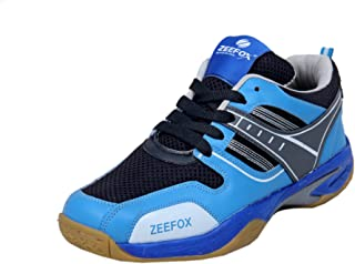 ZEEFOX Blue Bird Men's Badminton Shoes Blue